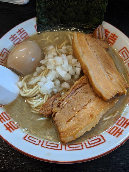 「中華そば+味玉+肉増し」@中華ソバ 伊吹の写真