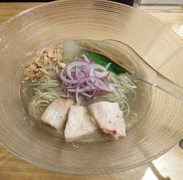 「【限定】冷やしらぁ麺 900円」@麺屋 さくら井の写真