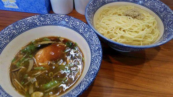 「[限定]昆布水つけ麺」@中華そば つの井の写真