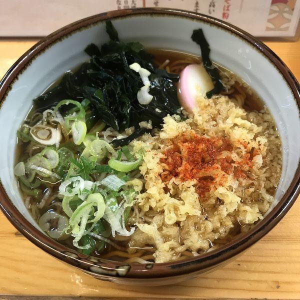 「たぬき(¥410)」@新田横丁天まる商店の写真