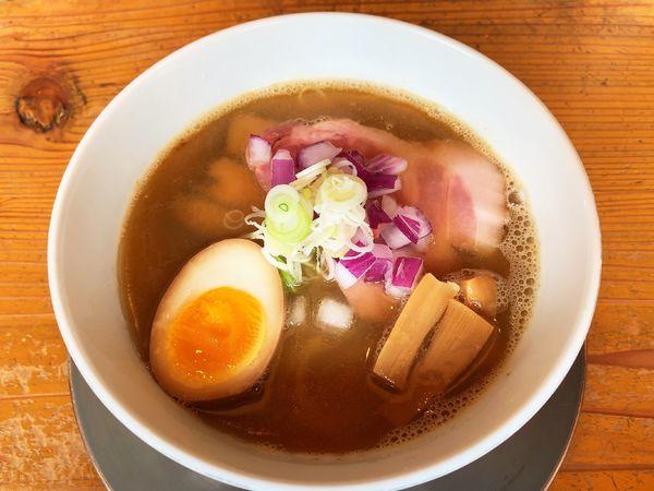 「煮干しそば 汐」@らぁ麺 めん奏心の写真