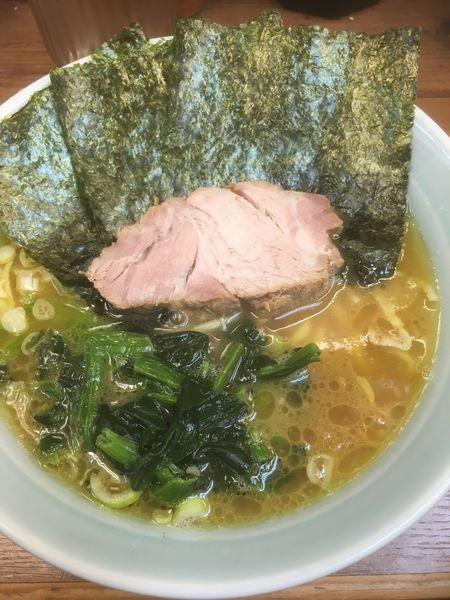 「らーめん」@横浜ラーメン 武蔵家 国領店の写真