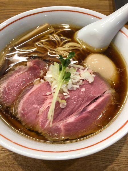 「特製軍鶏ソバ1100円」@麺尊 RAGEの写真