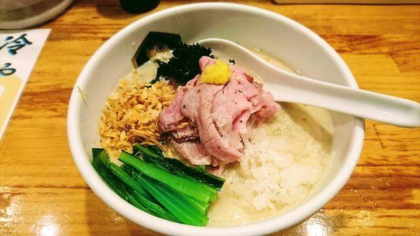 「【限定】冷やし真鯛胡麻らーめん」@真鯛らーめん 麺魚の写真