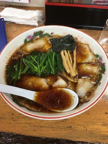 「チャーシューメン+ほうれん草増」@ラーメン フーマの写真