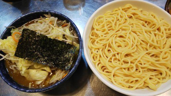 「もり野菜  麺中盛」@滝野川大勝軒の写真