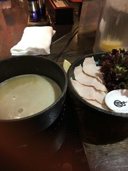 「濃厚鶏白湯つけ麺」@麺屋 時茂 西川口店の写真