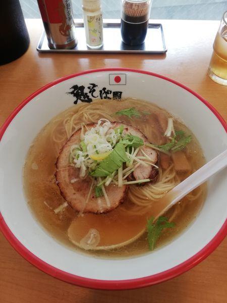 「鬼塩らぁ麺 850円」@鬼そば 藤谷の写真