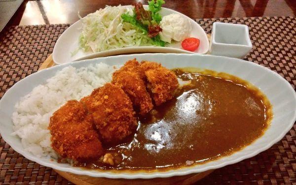 「国産豚のヒレカツカレー」@銀座咖喱堂 そごう横浜店の写真