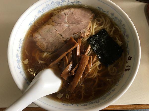 「ラーメン+餃子」@中華そば 丸信の写真