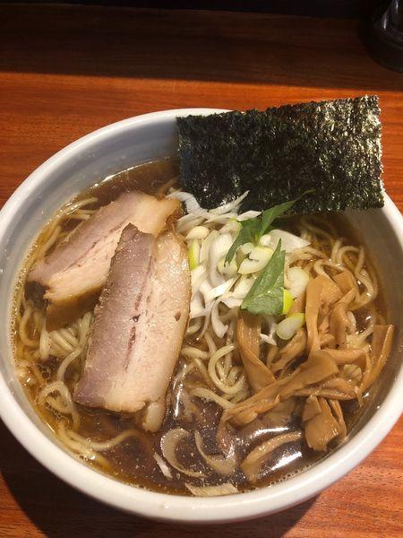 「江戸醤油ら〜麺」@麺屋 江武里の写真
