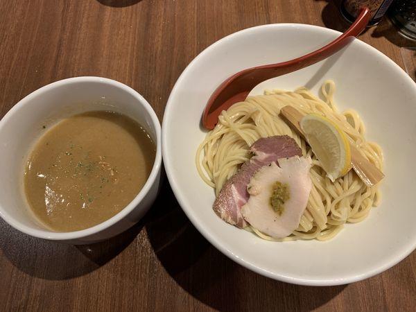 「鶏白湯つけ麺 800円」@麺屋 翔 品川店の写真