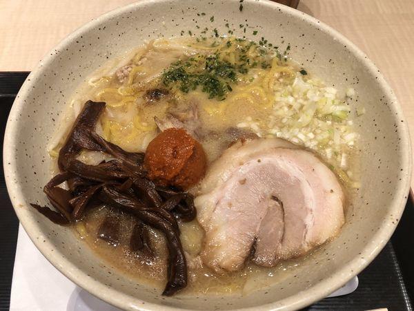 「辛味噌らーめん」@つじ田 味噌の章 東京駅店の写真