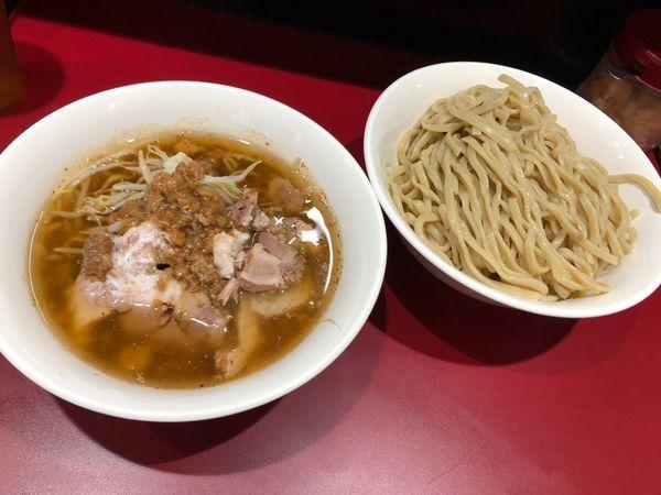 「つけ麺 中 900円 野菜少なめ」@立川マシマシ 国分寺店の写真
