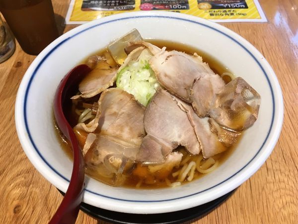 「冷やし煮干ラーメン」@すごい煮干ラーメン凪 五反田西口店の写真
