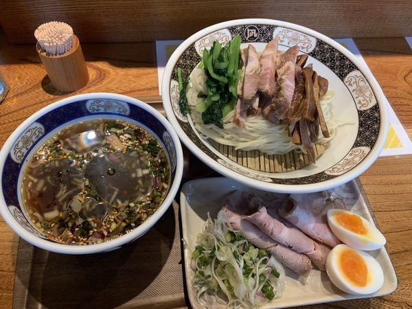 「特製煮干しざる中華」@ラーメン凪 浅草店の写真