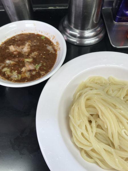 「坦々つけ麺」@中国手打拉麺 馬賊 日暮里店の写真