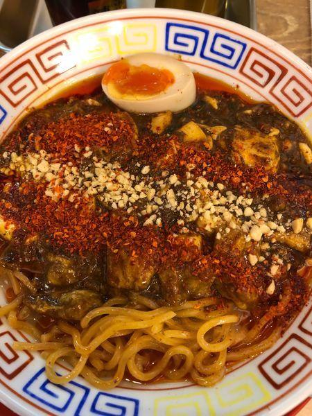 「豚骨麻婆麺 850円」@スパイス食堂 サワキチ 東京築地店の写真