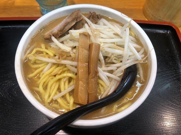 「味噌ラーメン 大盛 950円」@味噌麺処 花道の写真