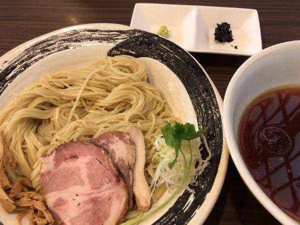 「本日限定:醤油つけ麺850円」@らぁ麺  麦一粒の写真
