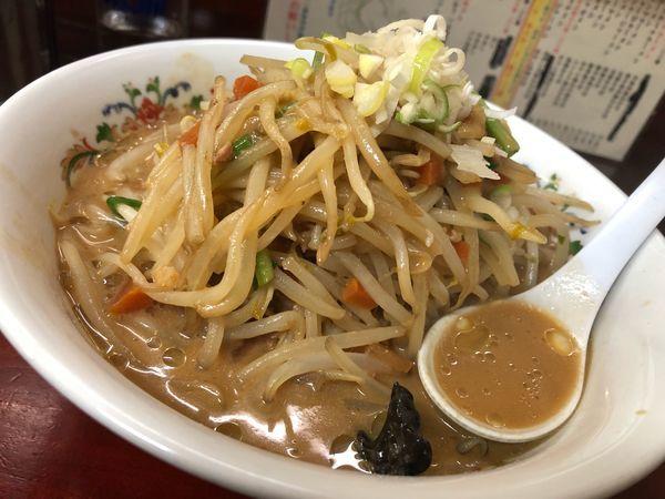「ジャージャー麺 大盛」@漫々亭の写真