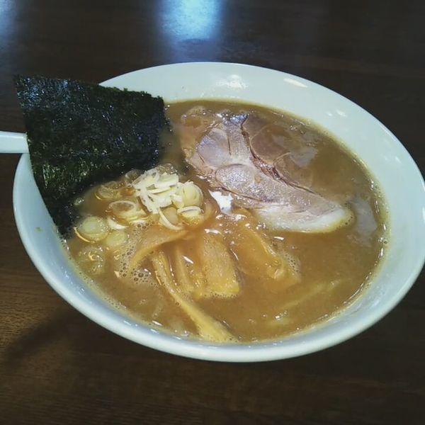 「魚介豚骨ラーメン」@麺屋 不動の写真