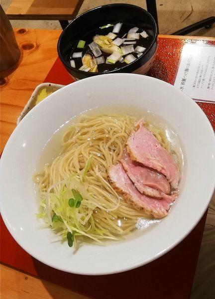 「鴨だし淡麗汁昆布水つけ麺」@麺処 ぐり虎 本店の写真