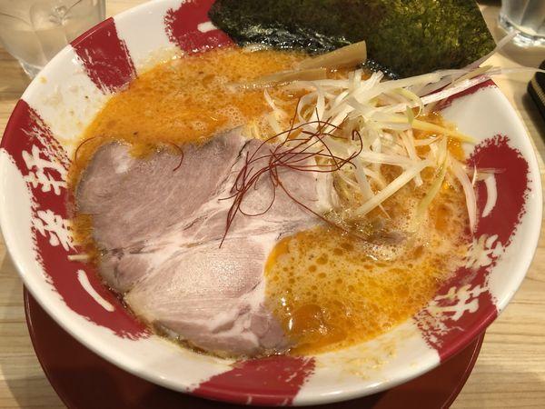 「赤豚骨 ラーメン」@大名古屋一番軒の写真