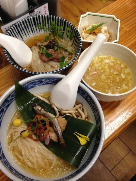 「【五周年記念限定麺】1000円」@中華そば よしかわの写真
