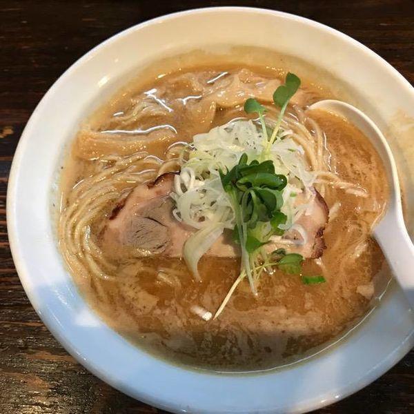 「煮干し濃厚ラーメン 850円」@麺屋 一寸星の写真
