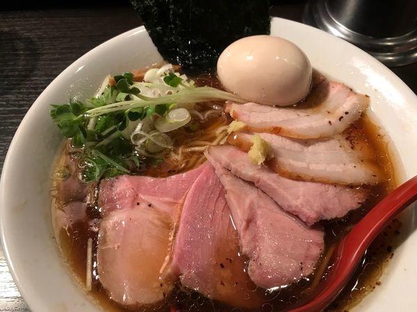「特製醤油ラーメン 1050円」@麺処 夏海の写真