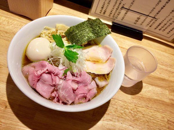 「特製 鶏そば 中盛 醤油ver.」@麺屋 れんしんの写真