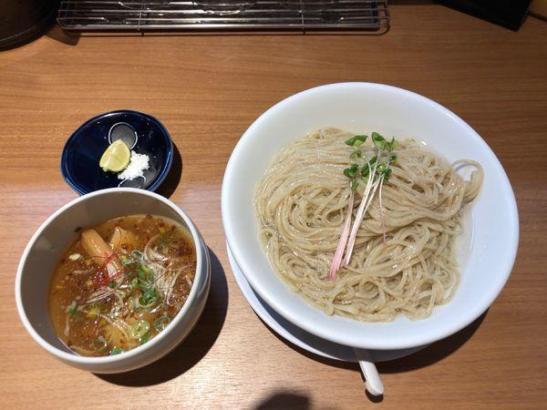 「昆布水つけ麺(塩)」@麺屋 㐂八の写真