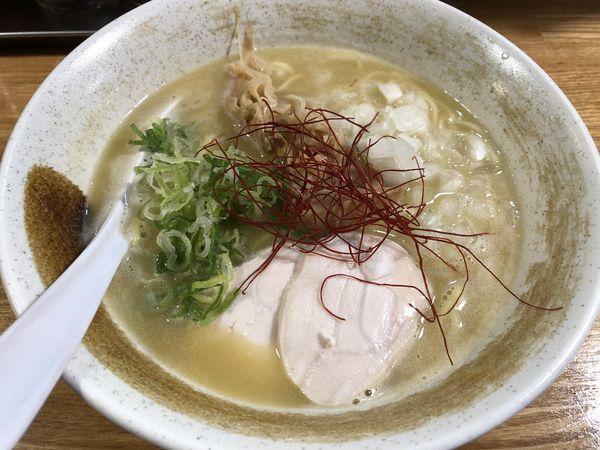 「濃厚鶏白湯 ¥780」@麺匠ようすけ 鶏煮亭の写真