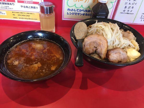 「辛つけ麺500g」@麺屋 桐龍の写真