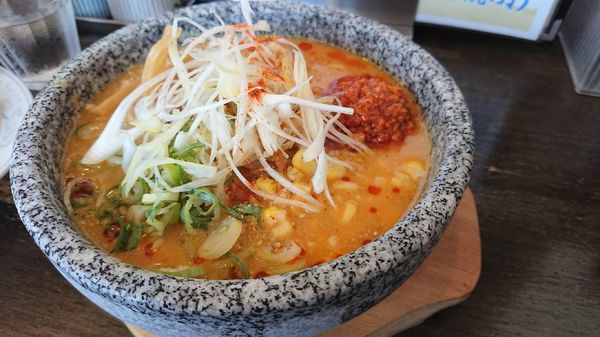 「極味噌冷やし担々麺~コールドストーンヌードル~820円」@極味噌らぅめん 吟屋の写真
