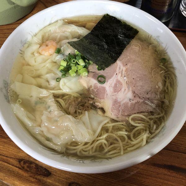 「塩雲呑麺」@伊達屋の写真