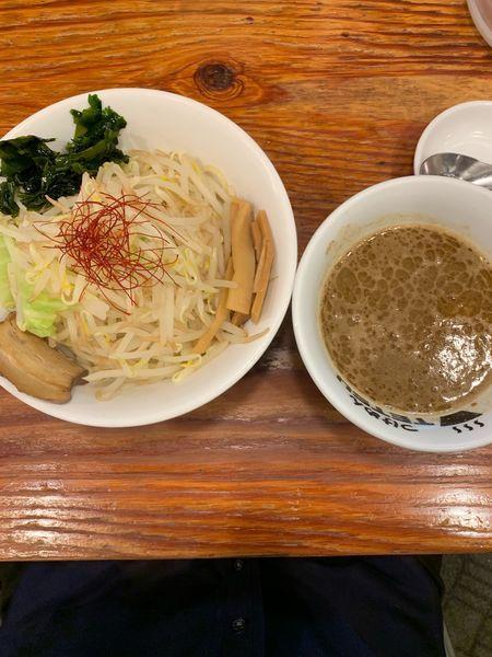 「海老味噌つけ麺(900円)」@つけめんTETSU さいたま特別版の写真