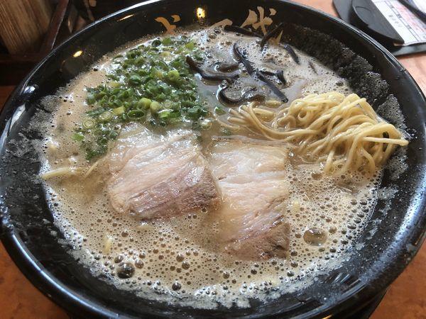 「ラーメン630円」@博多一成一代の写真