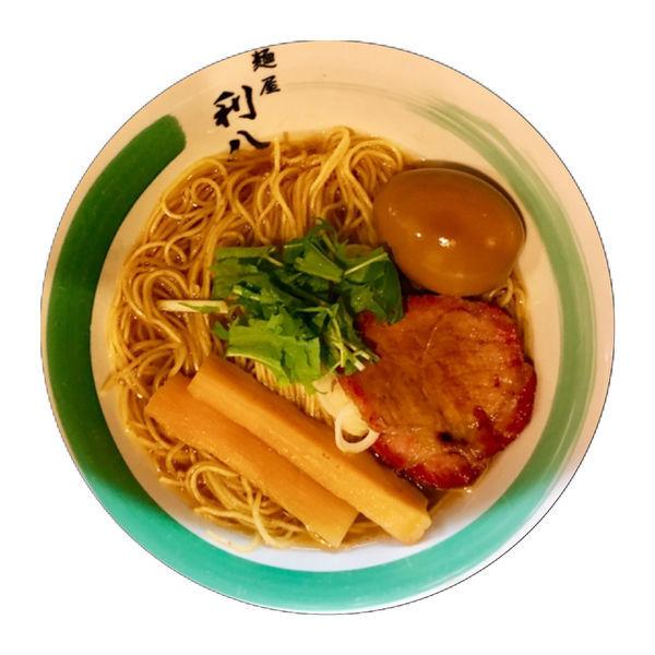 「☆土曜夜日曜限定 烏賊そば☆」@自家製麺 麺屋 利八の写真
