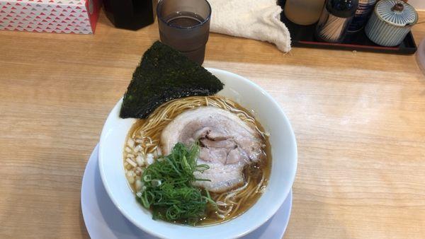 「煮干し醤油ラーメン750円」@麺屋 瑞風の写真