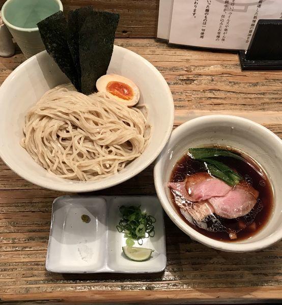 「限定 醤油つけ麺」@Homemade Ramen 麦苗の写真