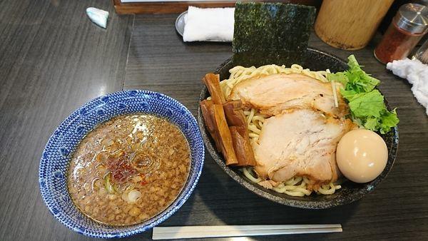 「正油つけ麺(大)味玉」@ラーメンつけ麺 奔放の写真