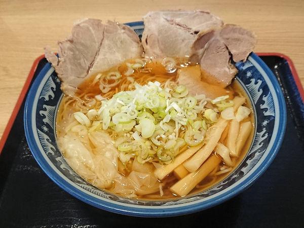 「酒田ラーメン(あっさりしょうゆ)」@ラーメン尾浦 八王子店の写真