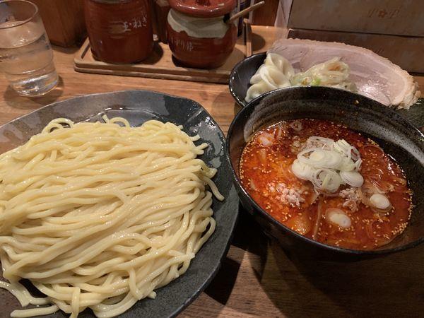 「辛味噌つけ麺 (大)」@つけ麺屋 ごんろく 両国店の写真