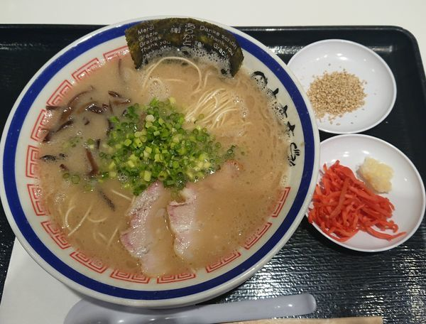 「らーめん」@博多長浜らーめん 田中商店 ダイバーシティ東京プラザ店の写真