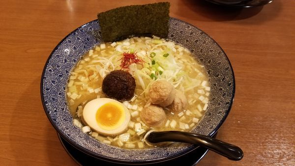 「鶏白湯ラーメン」@和風楽麺 四代目 ひのでや 大宮店の写真