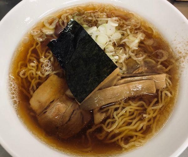 「中華そば(¥410)」@大江戸そば 上野9・10番ホーム店の写真
