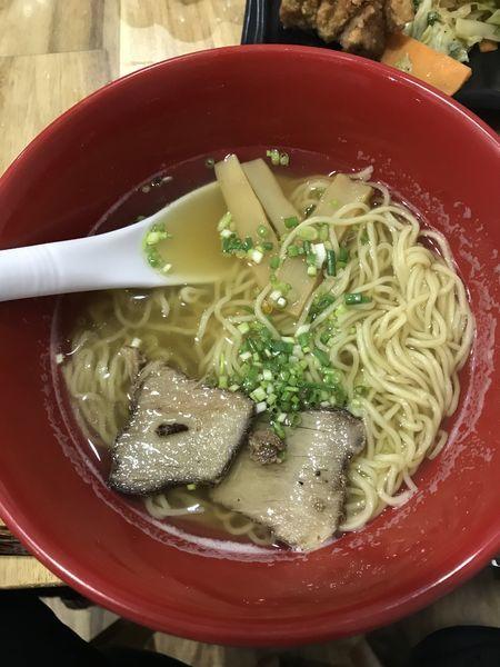 「塩RAMEN(d65000)」@GOKURAKU RAMENの写真