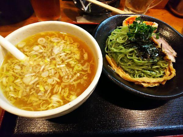 「気まぐれ翡翠麺」@麺屋 鶏口の写真